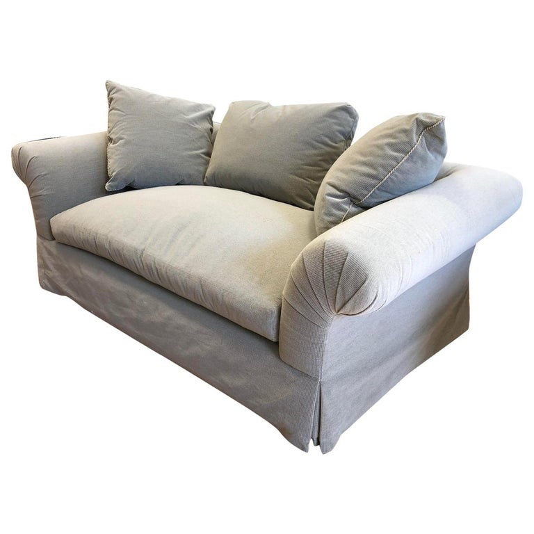 A. Rudin Rolled Arm Lounge Sofa For Sale 4
