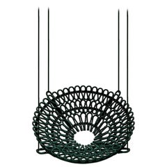 """""""Arupemba"""" Outdoor Lounge Chair or Swing in Green"""