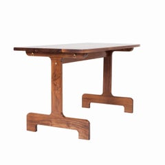 Asa Pingree Physalia Desk in Walnut, White Oak, Ebonized Maple or Fog Gray Ash