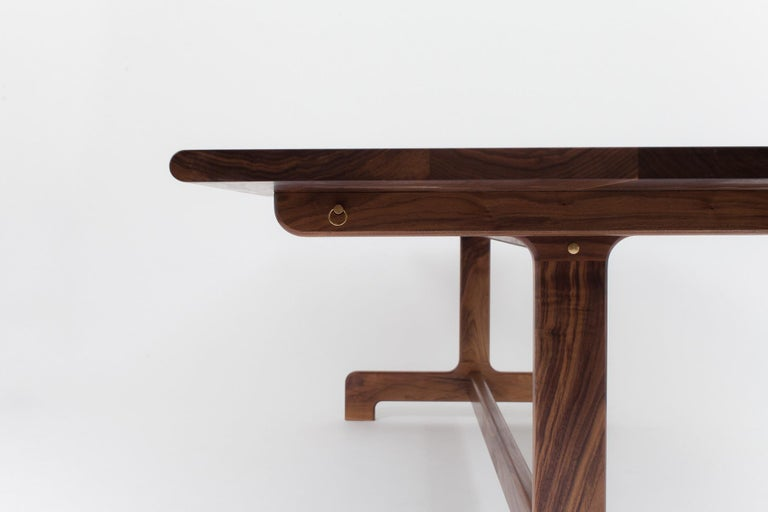 Asa Pingree Physalia Dining Table in American Walnut For Sale 1