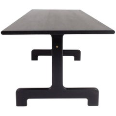 Asa Pingree Physalia Dining Table in Ebonized Maple