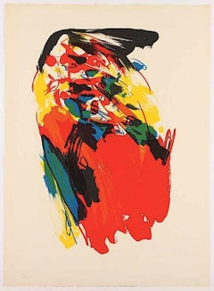 Untitled - Original Lithograph by Asger Jorn - 1973