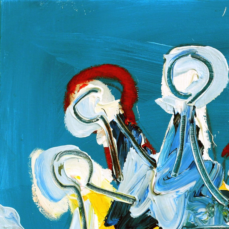 Ash Almonte is a contemporary abstract painter, born in Abilene, Texas in 1983. Fast gaining nationwide attention for her unique and fresh style, Ash Almonte uses references to abstract expressionism and combines it with a layered figurative
