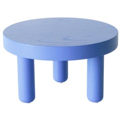 Ash Low Table in Rich Blue