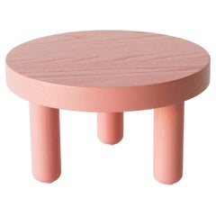 Ash Low Table in Rose