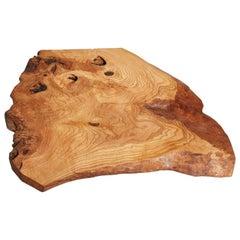 Ash Tree Live Edge Coffee Table, Live Edge Table, Rustic Edge End Table