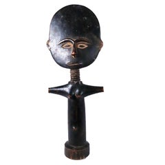 Ashanti Fertility Doll Akan Akua Ba Ghana West African Tribal Art Akuaba