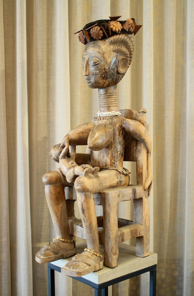 Ghanaian Ashanti Ghana African Art Sculpture For Sale