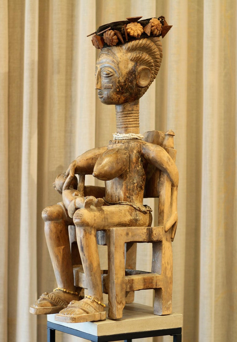 20th Century Ashanti Ghana African Art Sculpture For Sale
