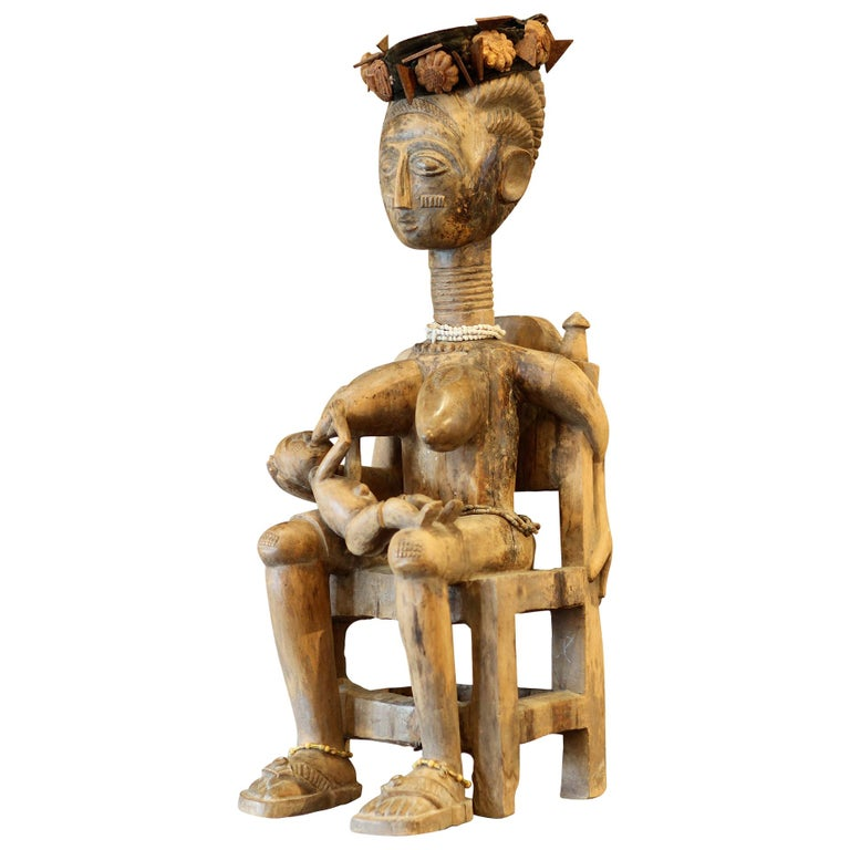 Ashanti Ghana African Art Sculpture For Sale