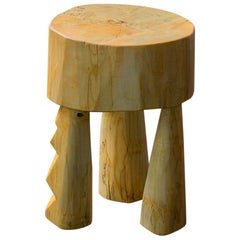 Ashanti Stool Sculpted by Vince Skelly