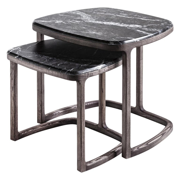 Asher Set of 2 Side Table For Sale