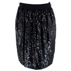 Ashish Sequinned Silk Skirt - Size S