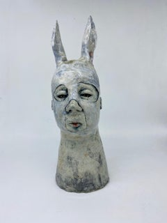 Ceramic Sculpture: 'He Is Put There To Show You Where You Aren't Free'