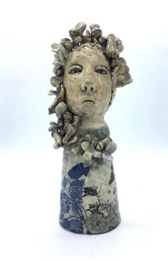 Figurative ceramic sculpture: 'It was time they came home'