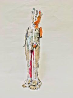 Ceramic Figure: 'Standing Relic