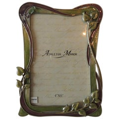 Ashley Manor Pewter and Glass Picture Frame