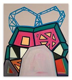 Broken Bridge (Abstract painting)