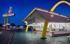 """McDonald's Downey, Los Angeles"" American Landscape Photograph"