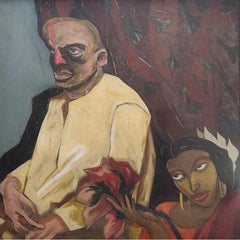 "Untitled, Oil on Canvas  by Contemporary Indian Artist ""In Stock"""