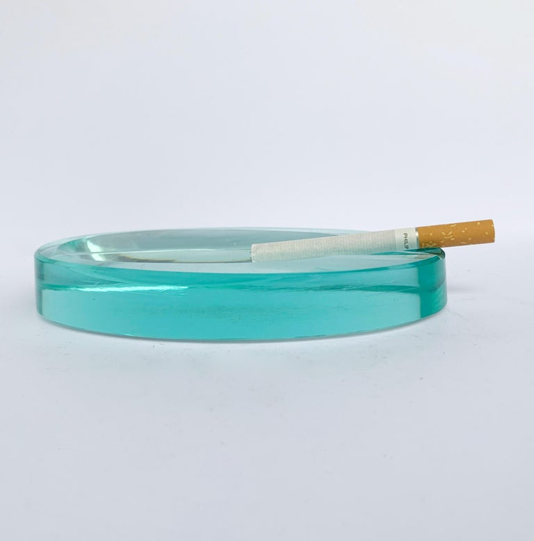 Italian Ashtray by Fontana Arte Glass, Italy, 1960s For Sale