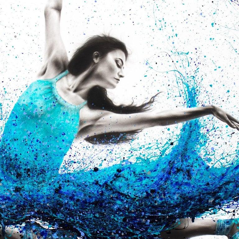 Luna Marina Ballet - Painting by Ashvin Harrison