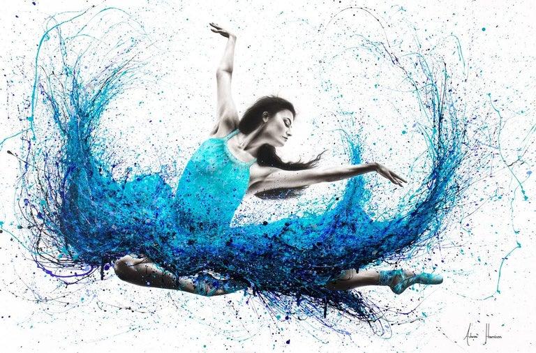 Ashvin Harrison Figurative Painting - Luna Marina Ballet