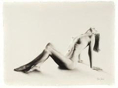 Nude Woman Charcoal Study 59