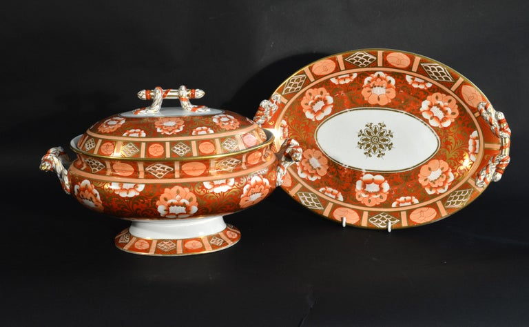 Ashworth Brothers Ironstone Dinner Service, circa 1893, Forty-Five Pieces, For Sale 4
