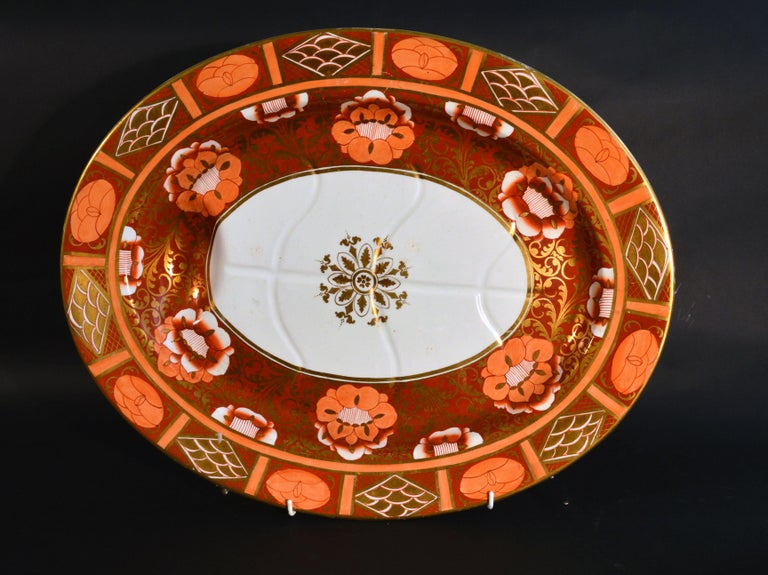 Ashworth Brothers Ironstone Dinner Service, circa 1893, Forty-Five Pieces, For Sale 5