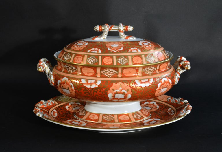 Ashworth Brothers Ironstone Dinner Service, circa 1893, Forty-Five Pieces, For Sale 3