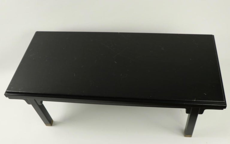 Asia Modern Coffee Table Attributed to Baker For Sale 3