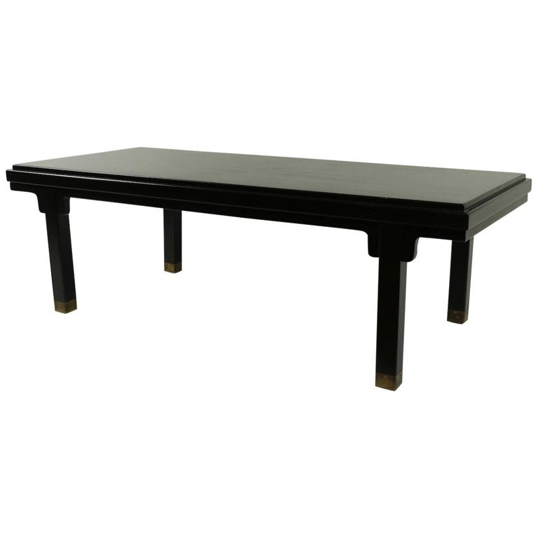 Asia Modern Coffee Table Attributed to Baker For Sale