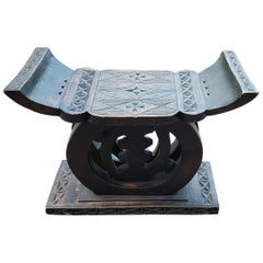 Asian Chinese Handmade Wooden Stool
