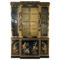 Asian Chinoiserie China Cabinet by Drexel