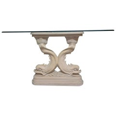 Asian Dolphin Console Table