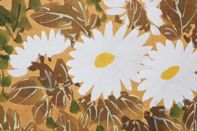 Asian Four-Panel Screen or Autumn Flowers in Bloom For Sale 10