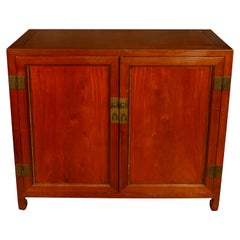 Asian Hardwood File Cabinet with Doors