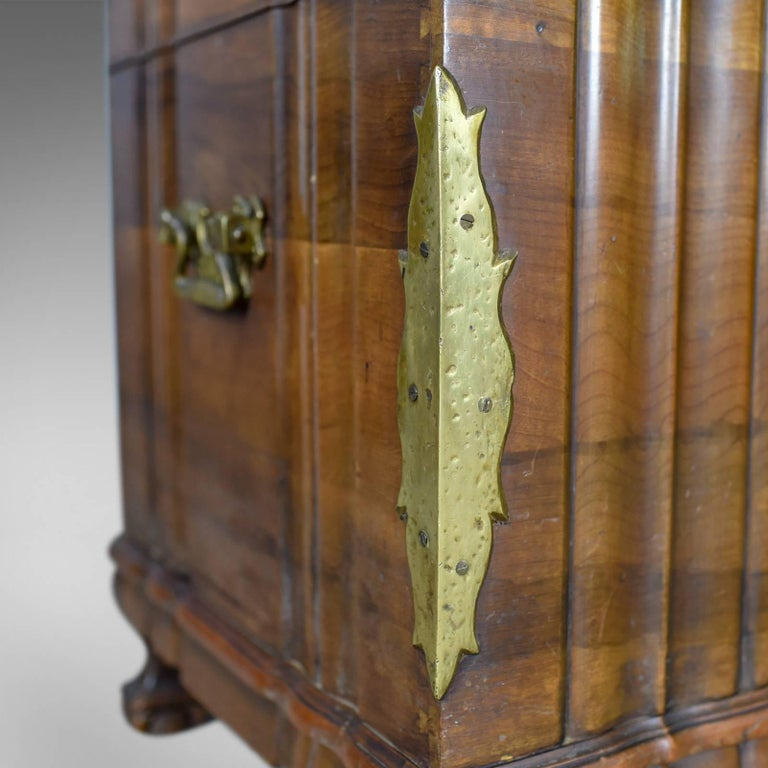 Asian Hardwood Trunk, Bronzed-Mounted Chest, Coffer, Late 20th Century For Sale 5