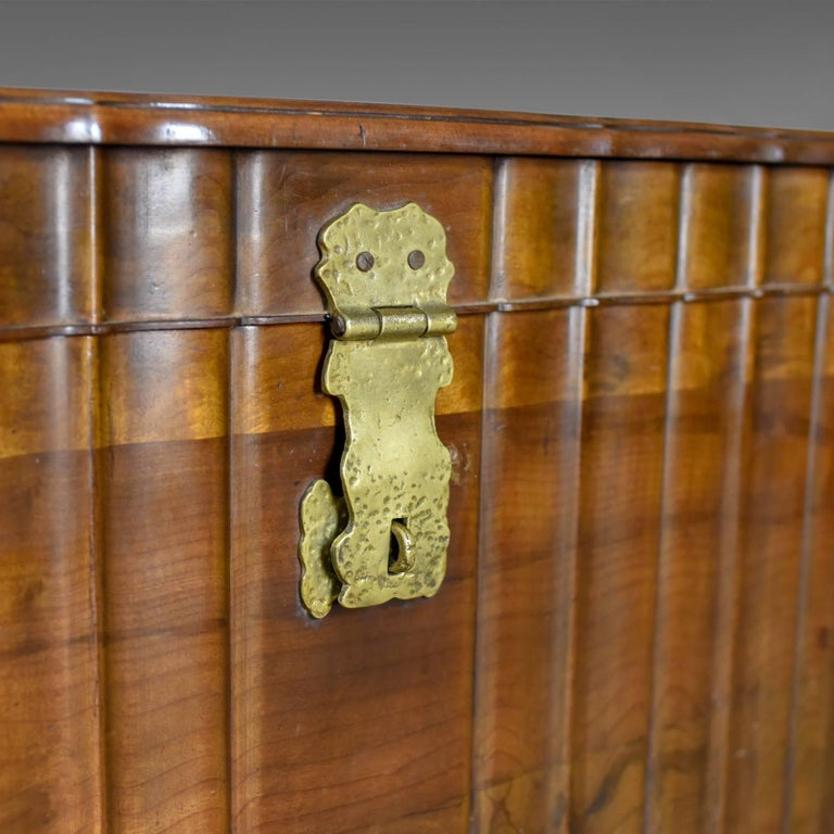 Asian Hardwood Trunk, Bronzed-Mounted Chest, Coffer, Late 20th Century For Sale 3