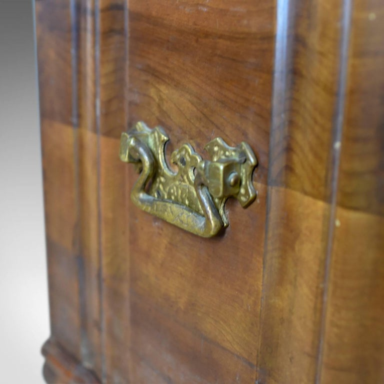 Asian Hardwood Trunk, Bronzed-Mounted Chest, Coffer, Late 20th Century For Sale 4