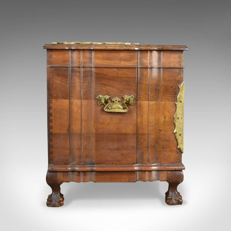 Chinese Export Asian Hardwood Trunk, Bronzed-Mounted Chest, Coffer, Late 20th Century For Sale