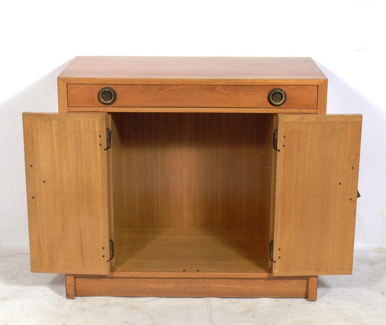American Asian Influenced Credenza or Cabinet by Dunbar For Sale