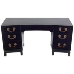 Asian Influenced Midcentury Desk