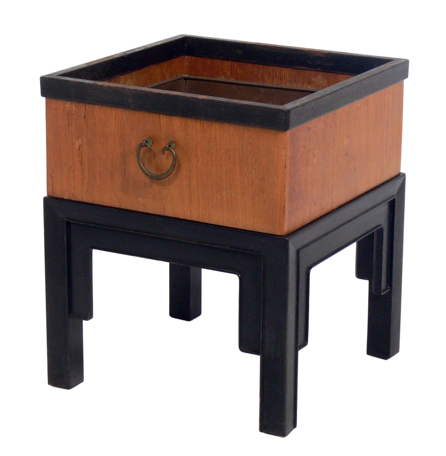 Asian Influenced Planter by Michael Taylor for Baker