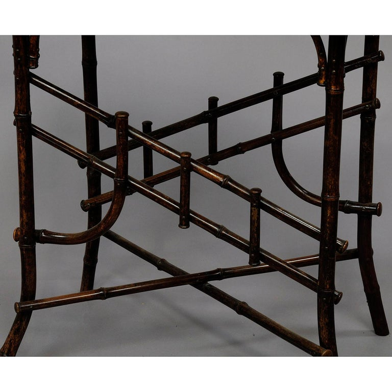 Asian Inspired Set of Bamboo Furniture, circa 1930s For Sale 4