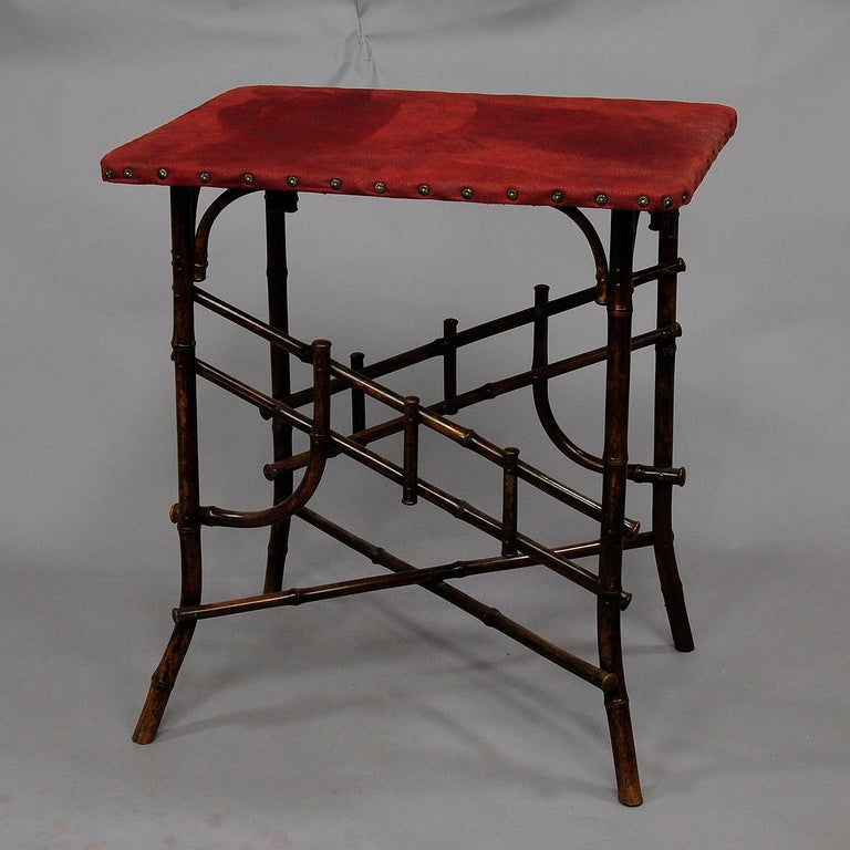 Colonial Revival Asian Inspired Set of Bamboo Furniture, circa 1930s For Sale