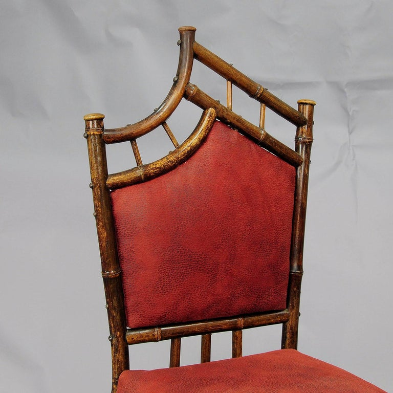 20th Century Asian Inspired Set of Bamboo Furniture, circa 1930s For Sale