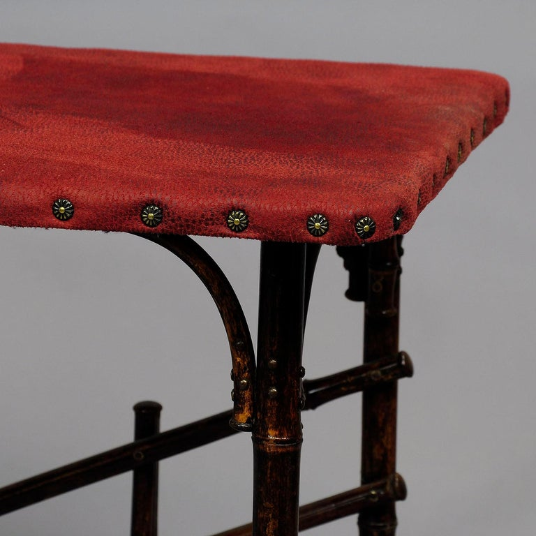 Asian Inspired Set of Bamboo Furniture, circa 1930s For Sale 3