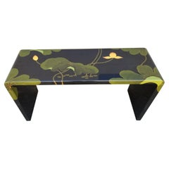 Asian Lacquer Console Table